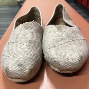 Used toms shoes size 6.5